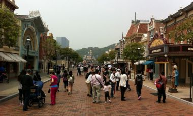 Parcul Disneyland din Hong Kong