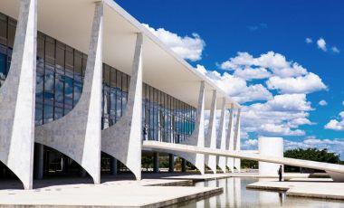 Palatul Planalto din Brasilia