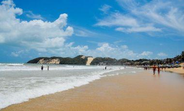 Plaja Ponta Negra din Natal