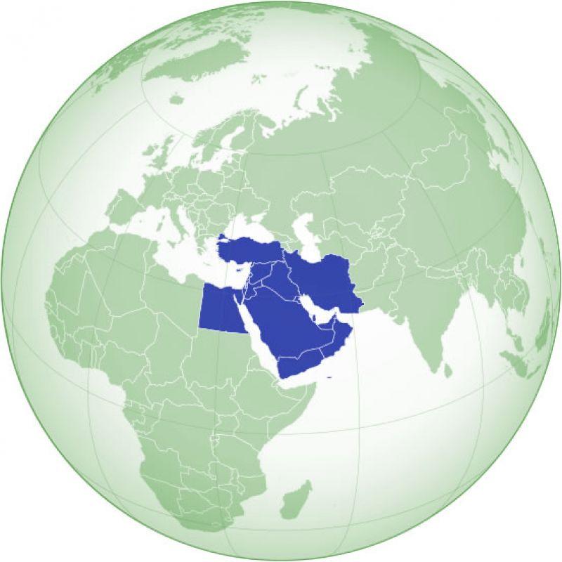 Steagurile tarilor din Orientul Mijlociu