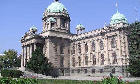 Adunarea Nationala a Serbiei de la Belgrad