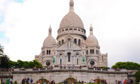 Basilica Sacre-Coeur din Paris