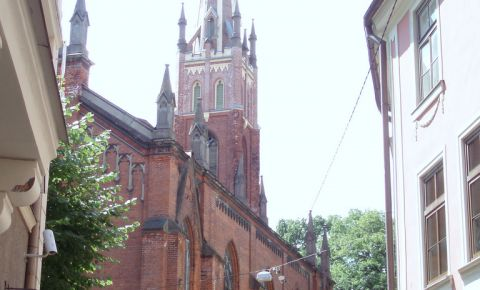 Biserica Anglicana Sfantul Salvator din Riga