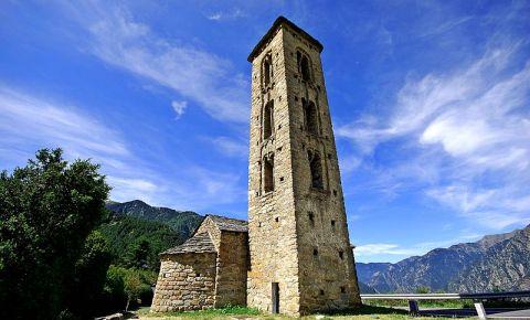 Biserica Saint Miguel d'Engolasters din Andorra la Vella