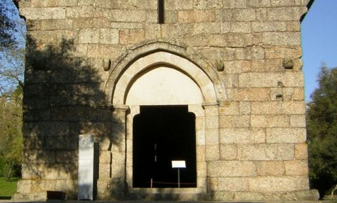 Biserica Sao Miguel do Castelo din Guimaraes
