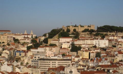 Cartierul Bairro Alto din Lisabona