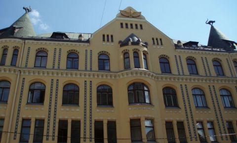Casa cu Pisici Negre din Riga