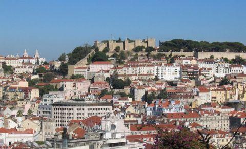 Castelul Sao Jorge din Lisabona