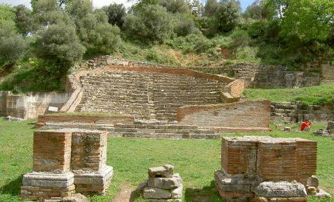 Ruinele cetatii Apollonia din Fier