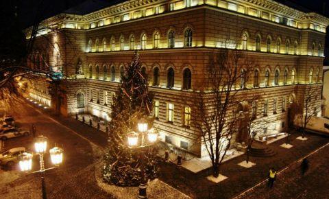 Cladirea Parlamentul Leton din Riga