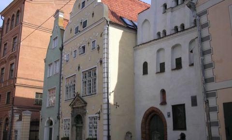 Cladirile celor Trei Frati din Riga