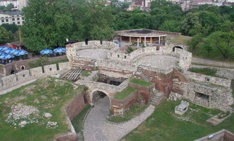 Fortareata Kalemegdan din Belgrad