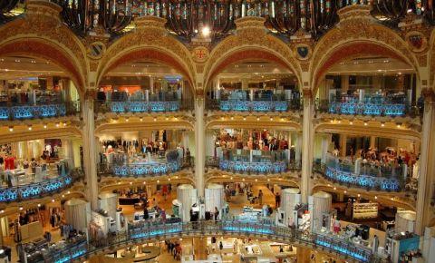 Galeriile Lafayette din Paris