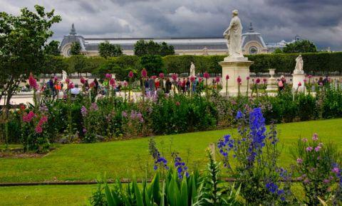 Gradinile Tuileries din Paris