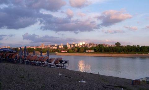 Insula Ada Ciganlija din Belgrad