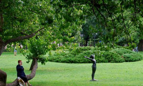 Parcul Vermanes din Riga