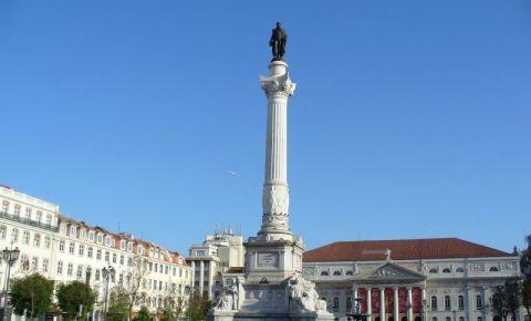 Piata Dom Pedro IV din Lisabona