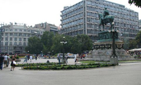 Piata Republicii din Belgrad