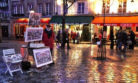 Piata Tertre din Paris