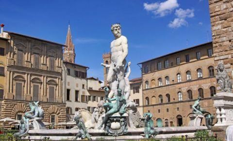 Piata Signoria din Florenta