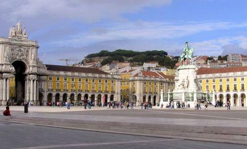 Praca Do Comercio din Lisabona