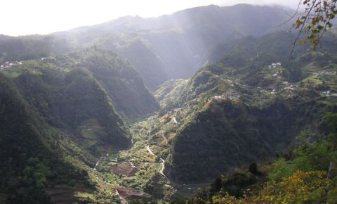 Vaile Sao Jorge din Insula Madeira