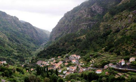 Valea Serra D'Agua din Insula Madeira