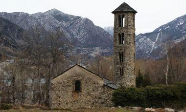 Biserica Santa Coloma din Andorra la Vella