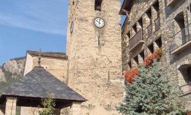 Biserica Sfantul Corneli si Sfanta Celebria din Ordino