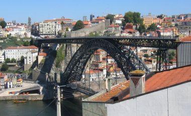 Podul Luis I din Porto
