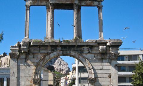 Arcada lui Hadrian din Atena
