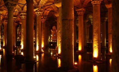 Basilica Cisterne din Istanbul