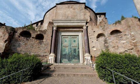 Basilica Santi Cosma e Damiano din Roma