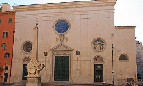 Bazilica Santa Maria sopra Minerva din Roma