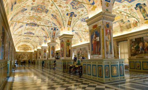 Biblioteca Vaticanului din Roma