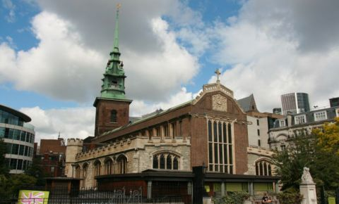 Biserica All Hallows by the Tower din Londra