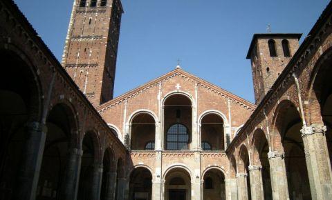 Biserica Sant`Ambrogio din Milano