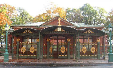 Cabana Tarului Petru cel Mare din Sankt Petersburg
