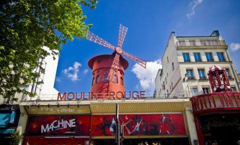 Cabaretul Moulin Rouge din Paris