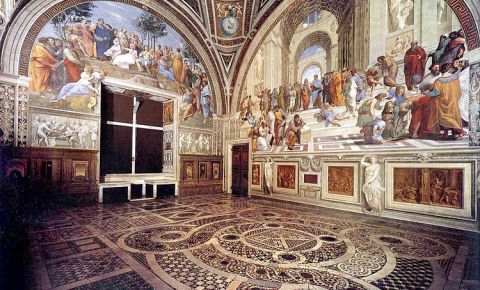 Camerele lui Rafael din Roma