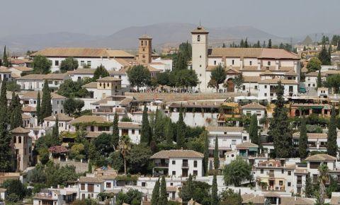 Cartierul Albaicin din Granada