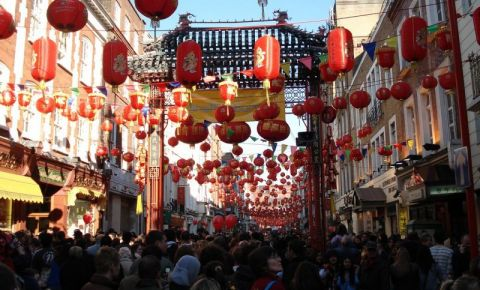 Cartierul Chinezesc din Londra