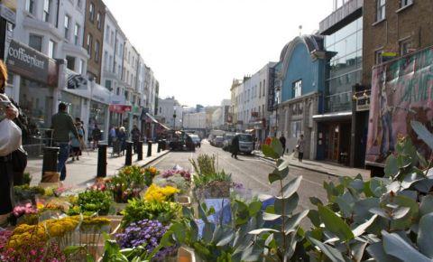Cartierul Notting Hill din Londra