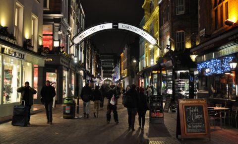 Cartierul Soho din Londra