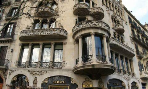 Casa Lleo - Morera din Barcelona
