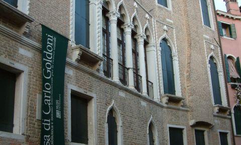 Casa lui Carlo Goldoni din Venetia
