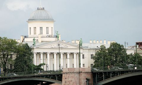 Casa Puskin din Sankt Petersburg