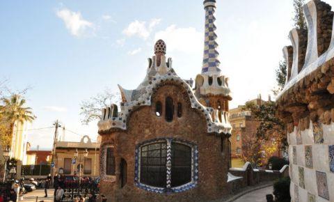 Casa Vrajitoarei, Parc Guell Barcelona