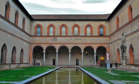 Castelul Sforzesco din Milano