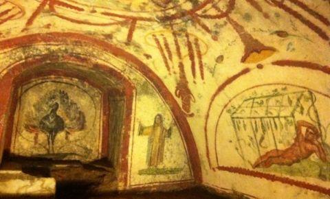 Catacombele Sfantului Calisto din Roma